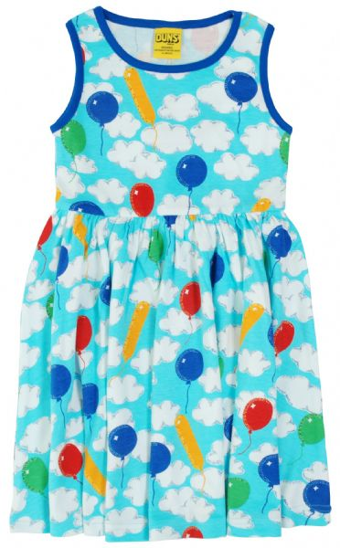 Duns Sleeveless Gathered Dress A Cloudy Day